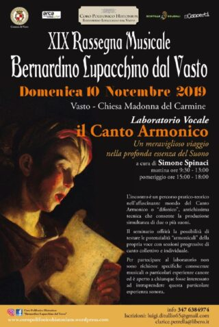 Locandina Canto Armonico